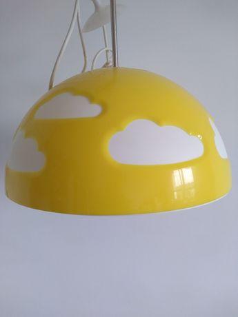 klosz sufitowy słoneczko/chmurki IKEA