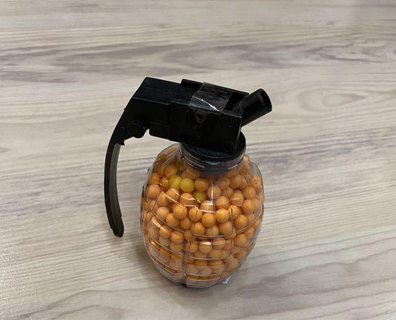 Игрушечная Граната с пулями 6 мм для пневматического пистолета