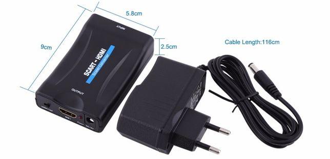 SCART para HDMI conversor/adaptador de Vídeo e Áudio