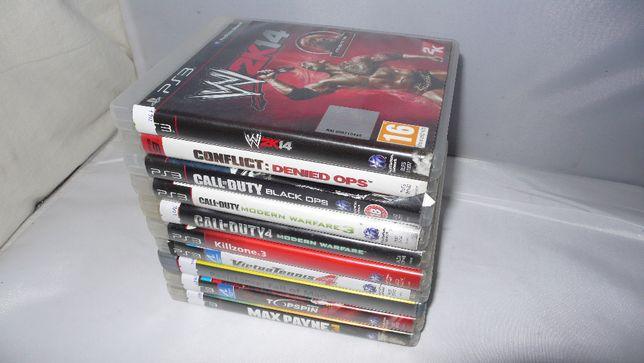 Zestaw 10 gier do Playstation 3 PS3 W2K14 COD Killzone3 Max Payne 3