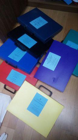 teczka teczki a4 kolory