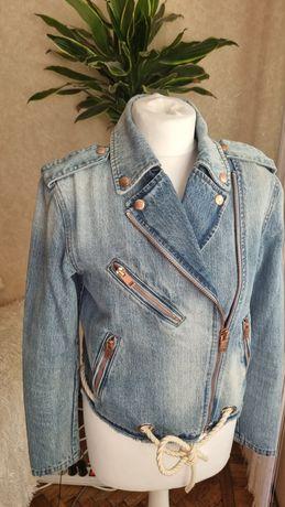 Косуха джинсовая куртка оригинал бренд Diesel