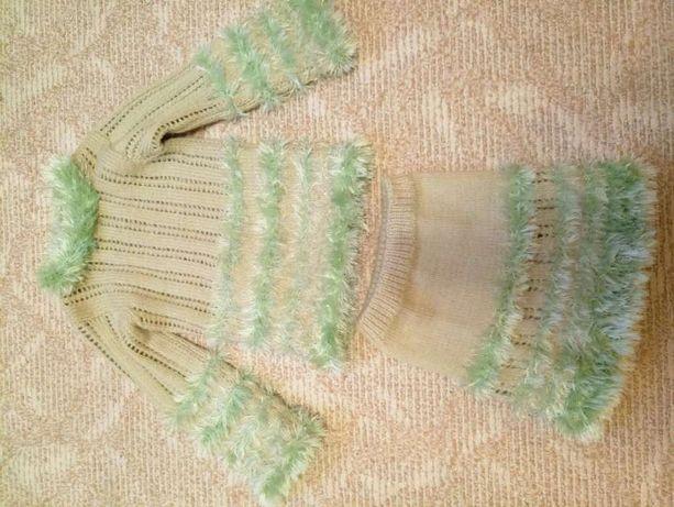 Теплый костюм, юбка, платье, туника, реглан, кофта