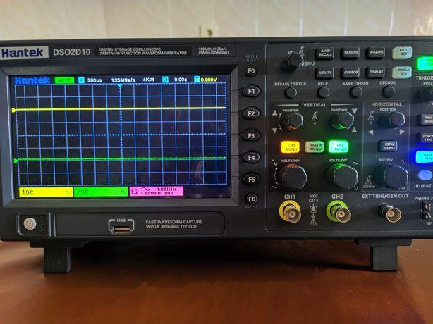 Osciloscópio de 100 MHz com gerador de funções(2D10)