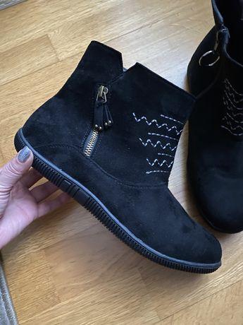 Сапоги ботинки Damart Asos Zara