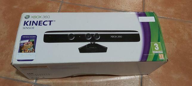 Kinect Xbox 360 com todos os acessórios