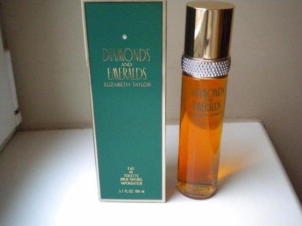 Elizabeth Taylor perfume 100 ML parfum - Diamonds and Emeralds - z USA