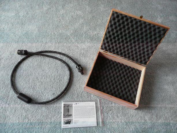 OKAZJA ! GIGAWATT LS-1 referencyjny przewód zasilający kabel sieciowy