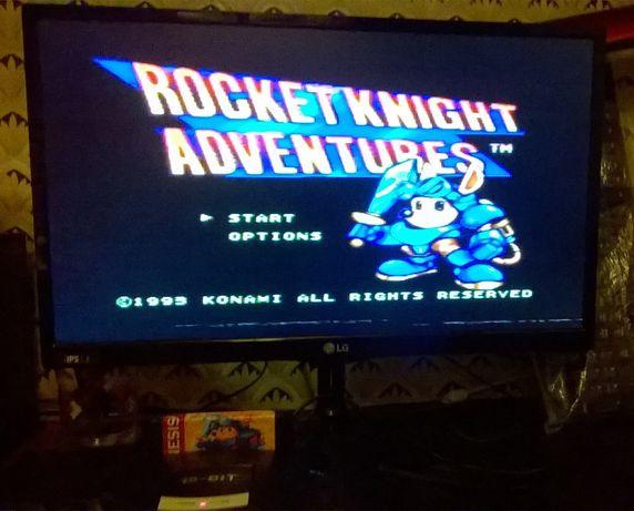 Rocket Knight Adventures Sega Mega Drive