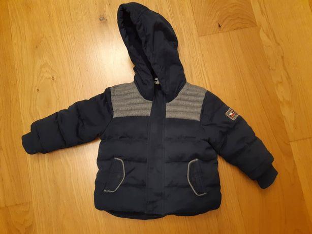 Ciepła Puchowa dziecięca kurtka TAPE A L'OEIL rozmiar 80 chłopięca