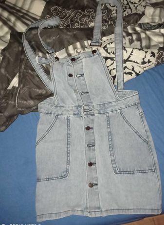 Spódnica jeansowa nowa kieszenie  mini