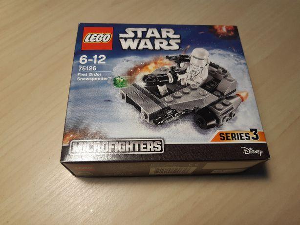 Klocki LEGO® Star Wars™ 75126 Śmigacz śnieżny Najwyższego Porządku