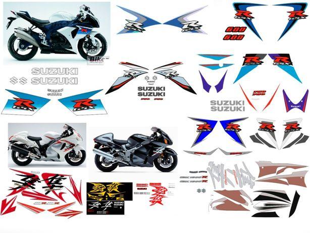 Наклейки Suzuki GSXR SV Honda CBR CB CBF Yamaha R1 R6 FZ ZX BMW F R GS