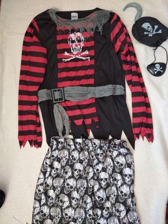 Пират 9-10 лет 136-140 см костюм карнавальный пират
