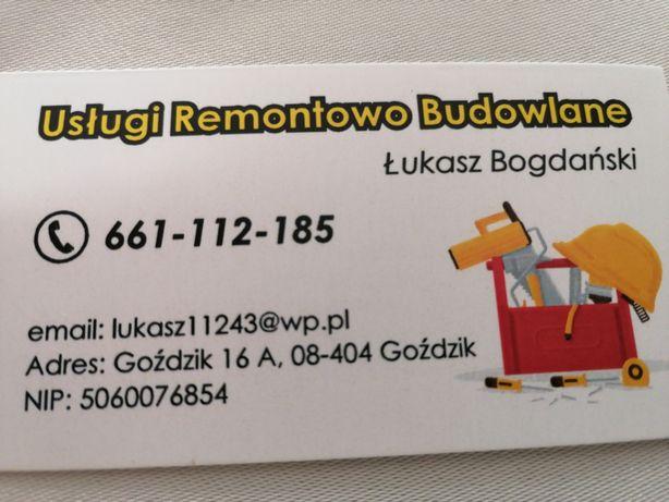 Usługi remontowe elewacje