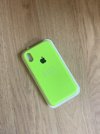 Apple etui case iphone xr toksyczna zieleń