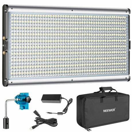 Painel led neewer 960 leds LED fotografia vídeo estúdio