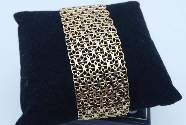 Złota bransoletka 38,07g P750 LOMBARD66