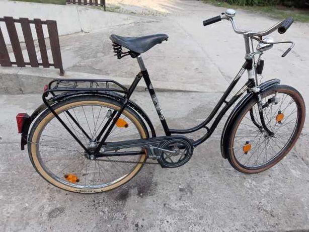 """Rower retro na kołach 26"""", bez biegów, hamulec przód typu """" opona""""."""