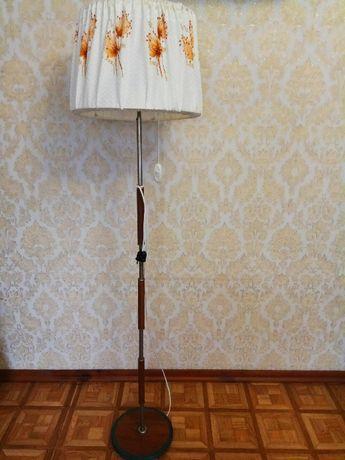 Торшер советский лампа напольная на 2 лампочки