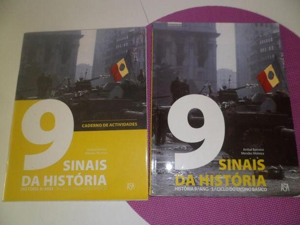 Livros Escolares 9º ANO - História (USADOS)