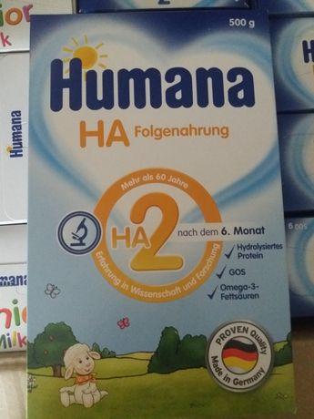 Смесь детская молочная гипоаллергенная.  Humana.  Германия