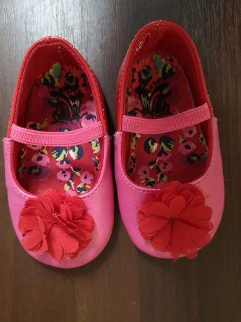 Туфли красные, туфли детские