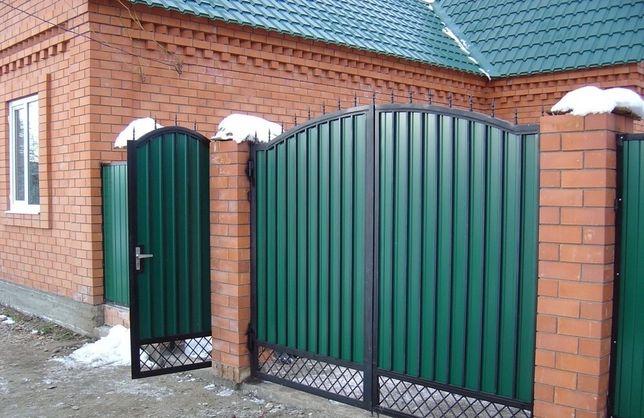 Ворота,кованые ворота,калитки,решётки на окна