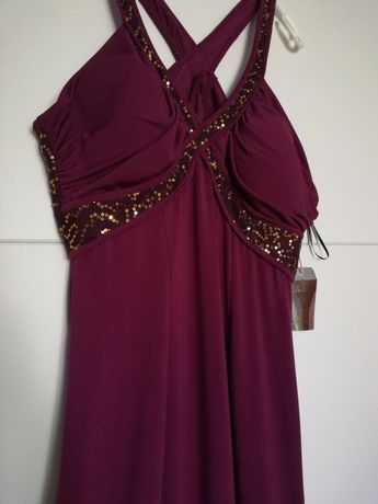 Nowa piękna suknia cherlone