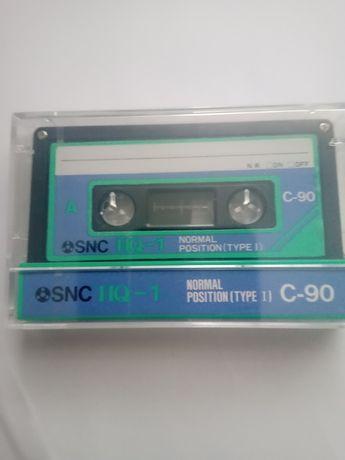 Касета нова в пленці   SNC HQ -C 90 Японія для магнітофона касетного