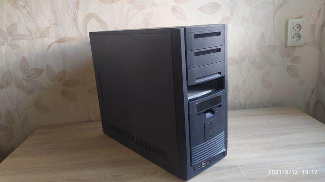 Игровой пк компьютер 6 ядер 4гб озу 80гб жд
