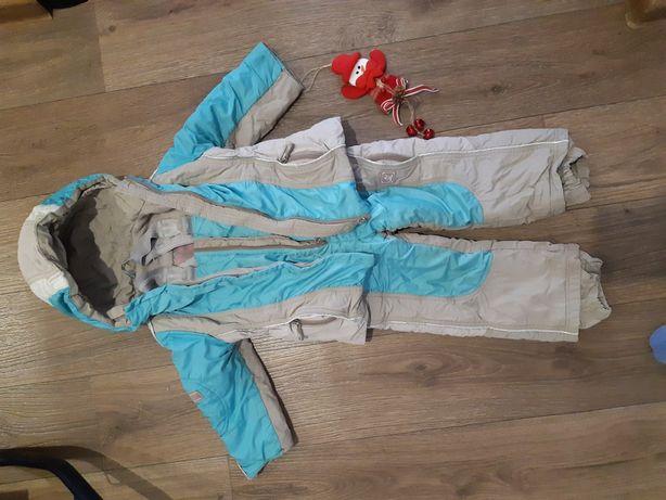 Продам зимний комплект куртка и комбинезон