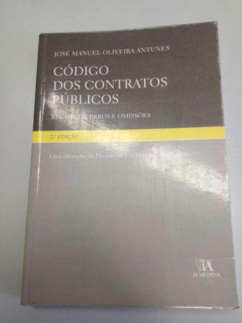 Código dos Contratos Públicos - Regime de Erros e Omissões