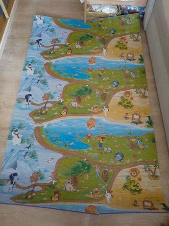 Теплый пол бэби пол моющийся игровой коврик детский ковер