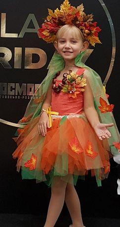 Карнавальный костюм. Костюм осень, на девочку