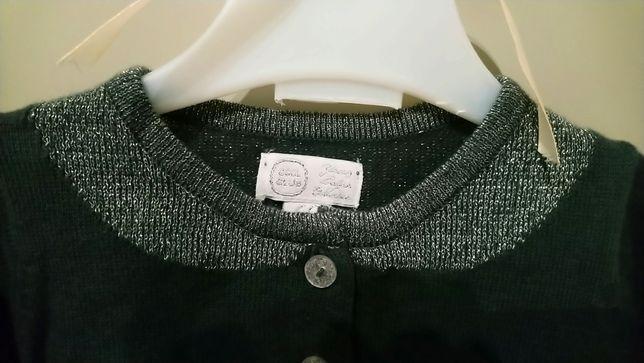 Sweterek , bolerko dla dziewczynki