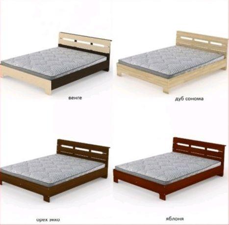 Кровать двуспал 160х200 с МАТРАСОМ - 4900 грн. МебельСКЛАД-Николаев