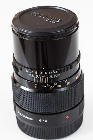 Obiektyw Zenzanon Bronica PS 200mm / 4,5