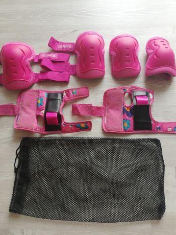 Ochraniacze dla dziewczynki