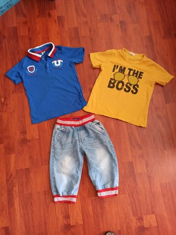 Летний костюм,комплект.Бриджи футболки шорты