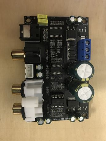 Цыфровой аудио декодер DAC/ЦАП CS8416 CS4398 SPDIF RCA