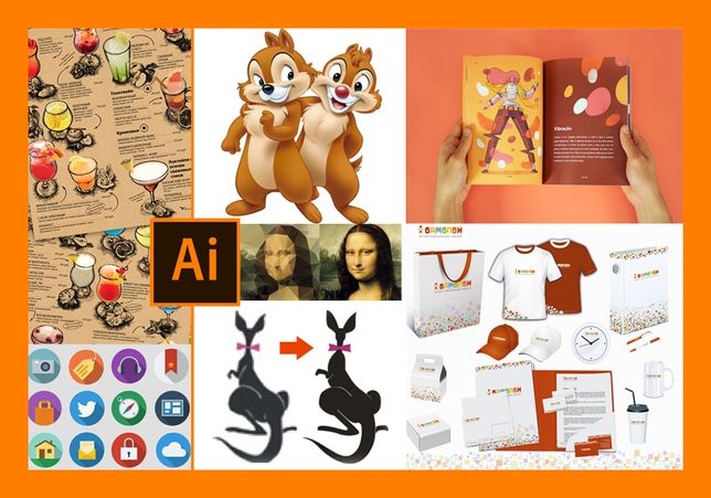 Grafika Wektorowa-illustrator-Corel Draw rysunek,ikonki, PDF,SVG,AI