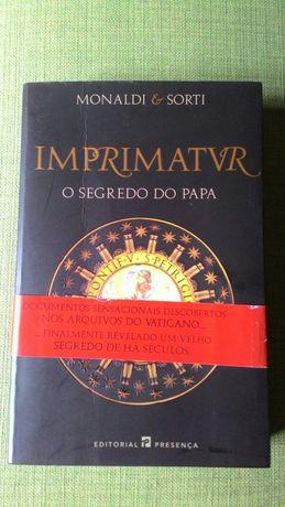 Livro Imprimatur - O Segredo do papa
