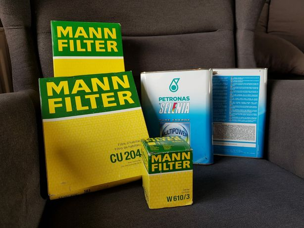 Olej Selenia 5w-40,wszystkie filtry- Nowe