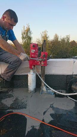 Wiertnica - Przewierty - Wiercenie otworów w betonie zbrojonym