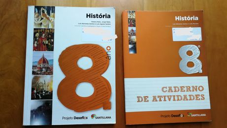 História 8 Desafios Manual +Caderno