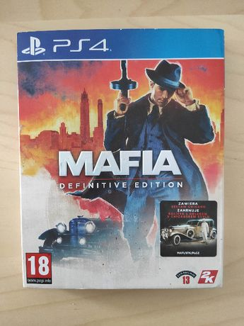 PS4 Mafia Definitive Edition + zestaw Chicago PL