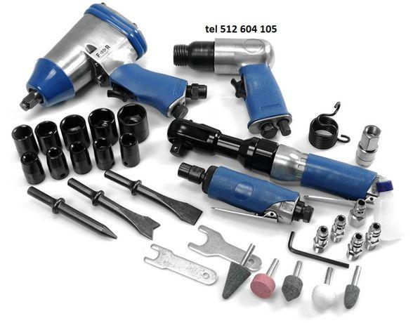 Zestaw narzędzi pneumat. 32pcs 4+28akces