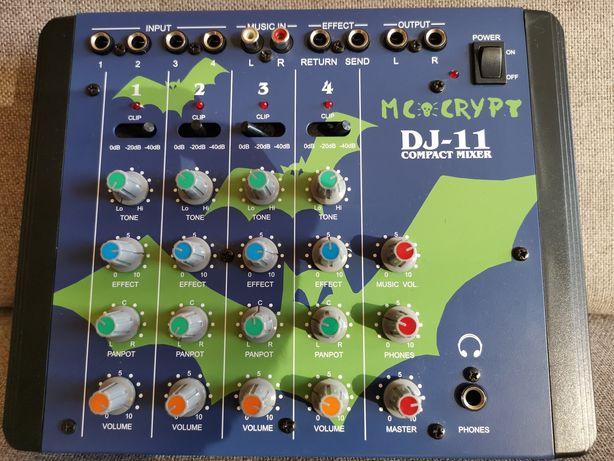 Mikser DJ-11 MC crypt compact mixer