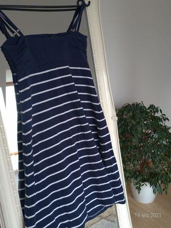 Sukienka letnia w paski